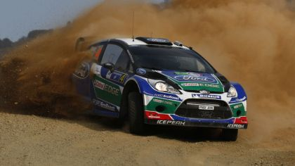 2012 Ford Fiesta WRC - rally of Mexico 4