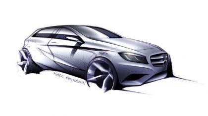2012 Mercedes-Benz A-klasse - design 1