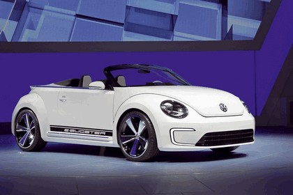2012 Volkswagen E-Bugster cabriolet concept 7