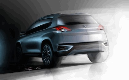 2012 Peugeot Urban Crossover concept 14