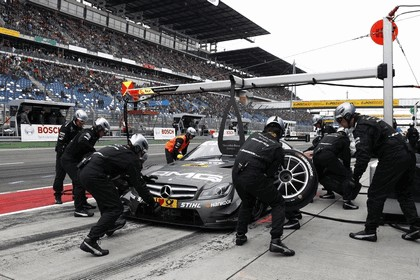 2012 Mercedes-Benz C-klasse coupé DTM - Lausitzring 34
