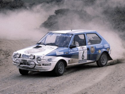 1981 Fiat Ritmo 75 Abarth Rally 1