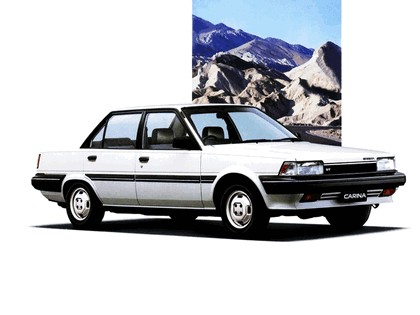 1984 Toyota Carina ( T150 ) - Japanese version 9