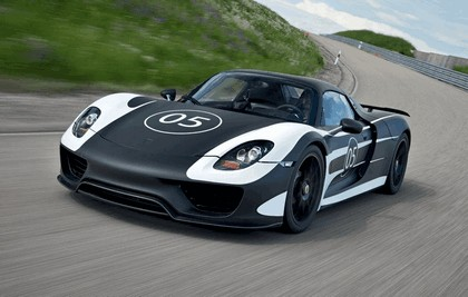 2012 Porsche 918 Spyder prototype 2