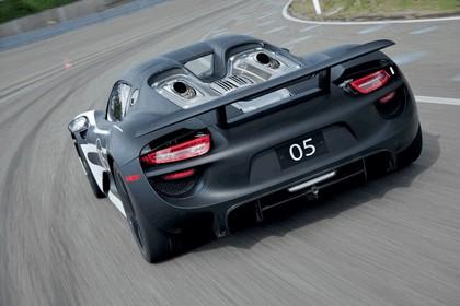 2012 Porsche 918 Spyder prototype 3
