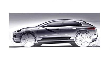 2012 Porsche Macan - sketches 1
