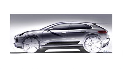 2012 Porsche Macan - sketches 6