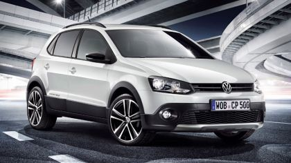 2012 Volkswagen CrossPolo Urban White 3