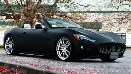 2012 Maserati GranCabrio Prowler Project PUR Wheels by SR Auto 1