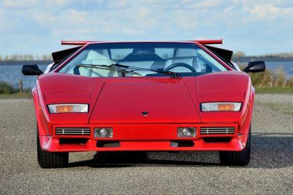 1986 Lamborghini Countach 5000 Quattrovalvole 4