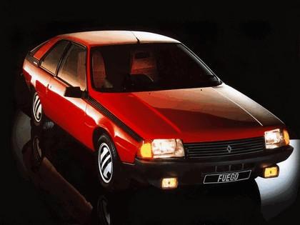 1983 Renault Fuego Turbo 2