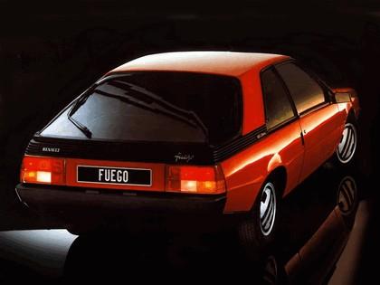 1983 Renault Fuego Turbo 3