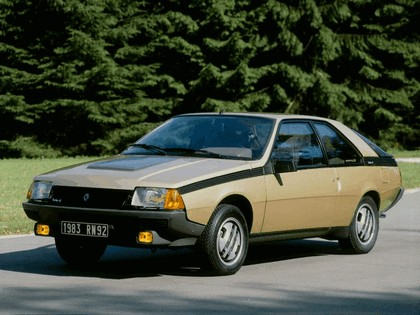 1983 Renault Fuego Turbo 4