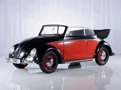 1949 Volkswagen Beetle cabriolet by Karmann 1