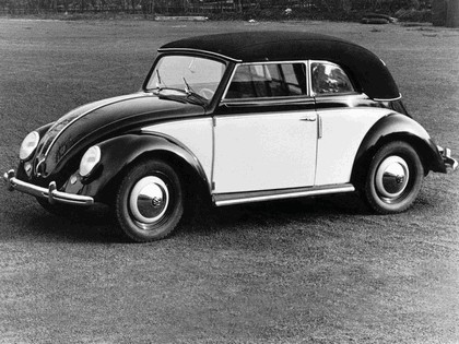 1949 Volkswagen Beetle cabriolet by Karmann 2