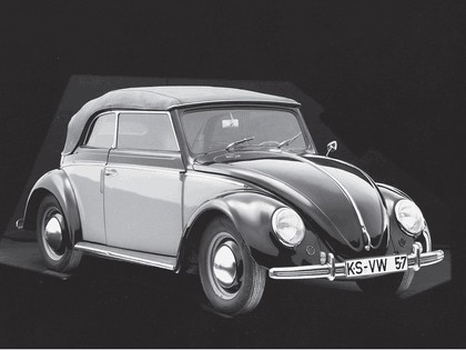 1949 Volkswagen Beetle cabriolet by Karmann 3