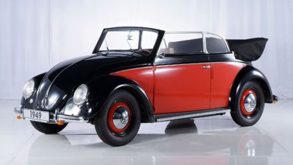 1949 Volkswagen Beetle cabriolet by Karmann 8