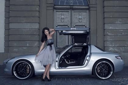 2012 Mercedes-Benz SLS 63 AMG by Inden Design 2