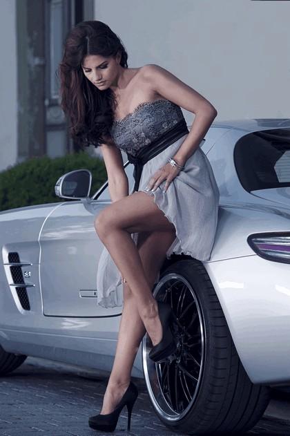 2012 Mercedes-Benz SLS 63 AMG by Inden Design 4