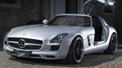 2012 Mercedes-Benz SLS 63 AMG by Inden Design 1