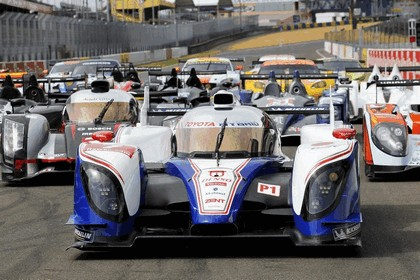 2012 Toyota Racing TS030 Hybrid - Le Mans 24 hours 11