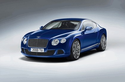 2012 Bentley Continental GT Speed 1