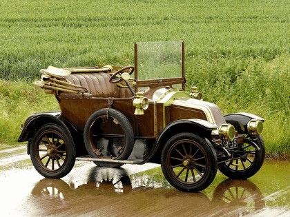 1909 Renault Type AX 8 CV by Rippon 1