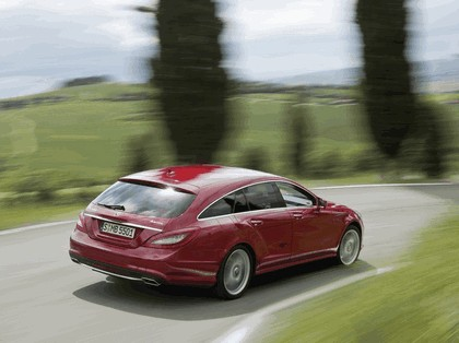 2012 Mercedes-Benz CLS 500 4Matic Shooting Brake with AMG Sports Package 9