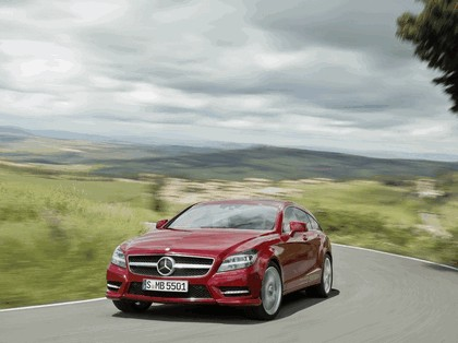 2012 Mercedes-Benz CLS 500 4Matic Shooting Brake with AMG Sports Package 10