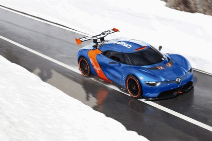 2012 Renault Alpine A110-50 - On the roads in the Alps 1