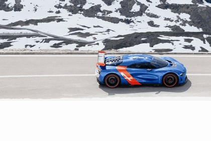 2012 Renault Alpine A110-50 - On the roads in the Alps 2