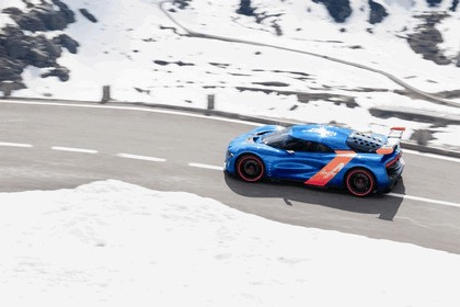 2012 Renault Alpine A110-50 - On the roads in the Alps 3