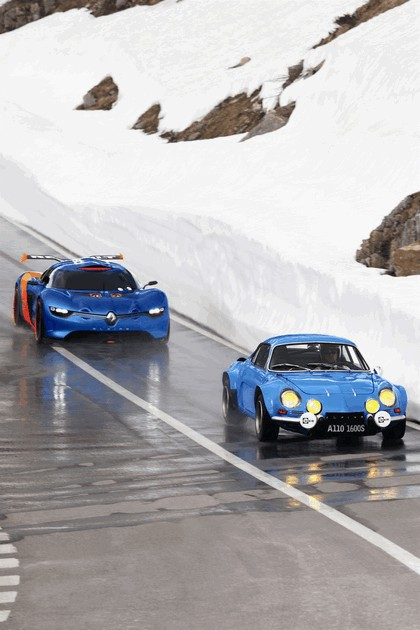 2012 Renault Alpine A110-50 - On the roads in the Alps 5
