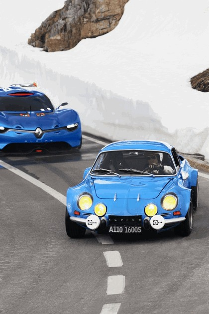 2012 Renault Alpine A110-50 - On the roads in the Alps 6