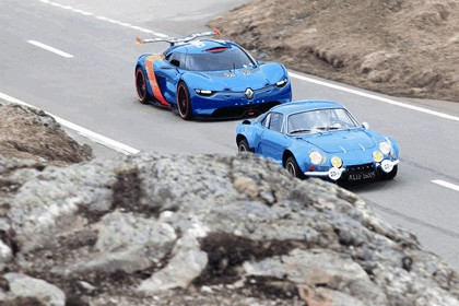 2012 Renault Alpine A110-50 - On the roads in the Alps 7