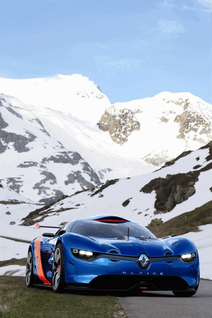 2012 Renault Alpine A110-50 - On the roads in the Alps 19