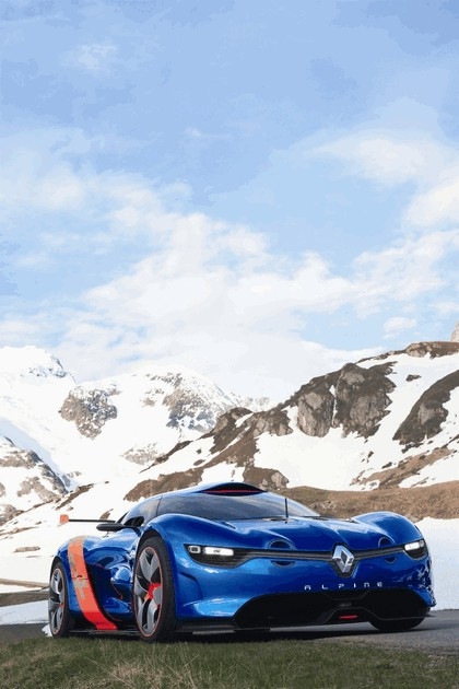 2012 Renault Alpine A110-50 - On the roads in the Alps 20