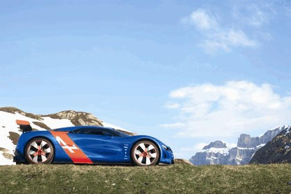 2012 Renault Alpine A110-50 - On the roads in the Alps 21