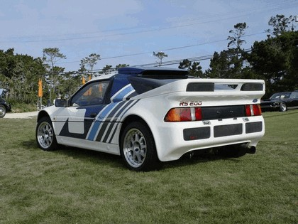 1986 Ford RS200 rally 3
