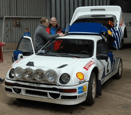 1986 Ford RS200 rally 4