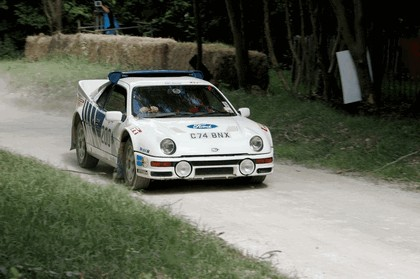 1986 Ford RS200 rally 9