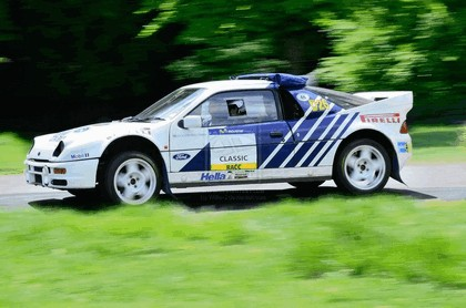 1986 Ford RS200 rally 11