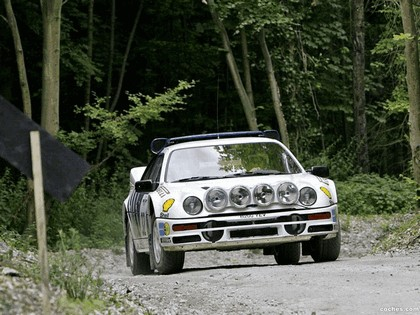 1986 Ford RS200 rally 13