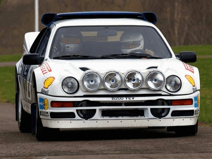 1986 Ford RS200 rally 15