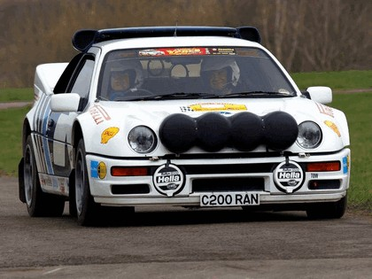 1986 Ford RS200 rally 16