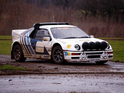 1986 Ford RS200 rally 17