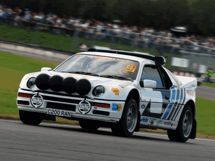 1986 Ford RS200 rally 18