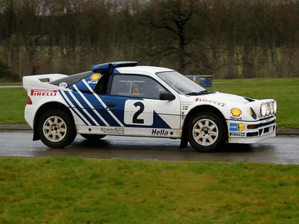 1986 Ford RS200 rally 19