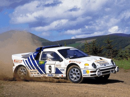 1986 Ford RS200 rally 20