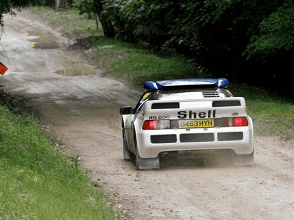 1986 Ford RS200 rally 21